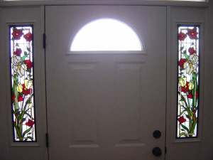 this sidelight is too decorative and personalized