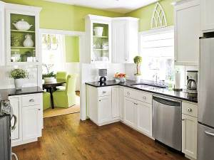 cucina verde lime