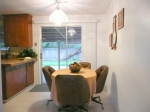 dinette after room redesign by Creative Concepts and Contracting
