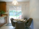 dinette before home staging