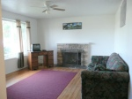 living room before home staging