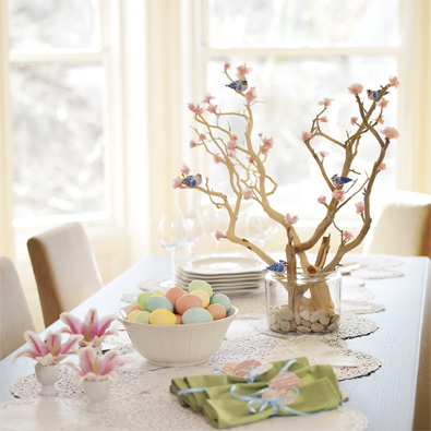 Centerpieces For Tables. spring centerpieces create