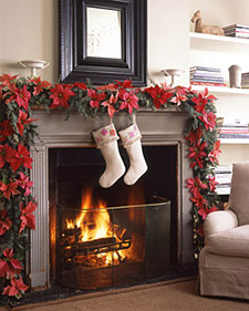 decorating for the holidays when home selling