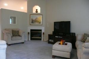 Living Room - old carpet