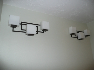 stylish bathroom lights