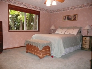 Master bedroom before staging consultation
